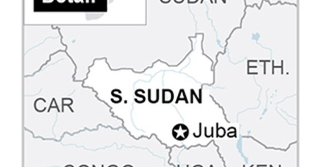 A rare view from inside South Sudan's most-feared prison