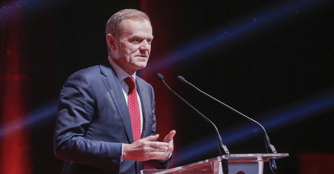 EU's Tusk urges Polish govt to respect the constitution