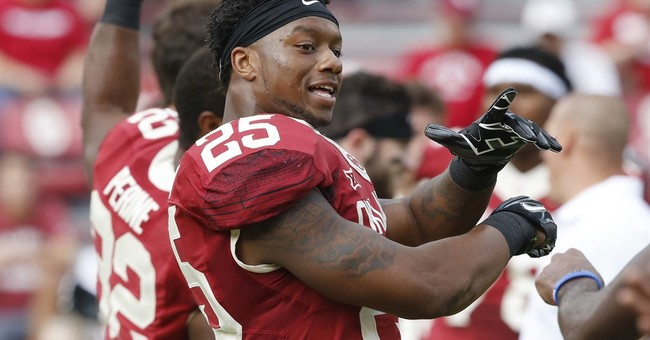 Video of Oklahoma RB Mixon punching woman released