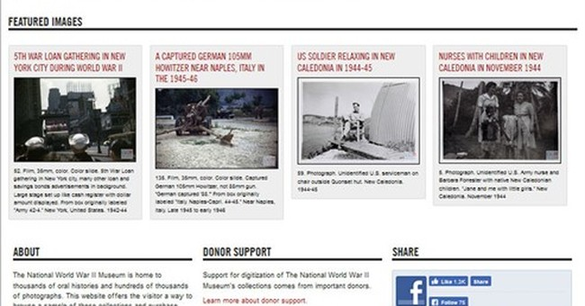 WWII on www: thousands of oral histories going online