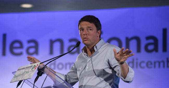Renzi vows to revamp Italian party, make it more humble