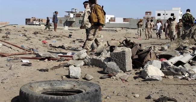 Blast kills at least 48 outside Yemen military camp