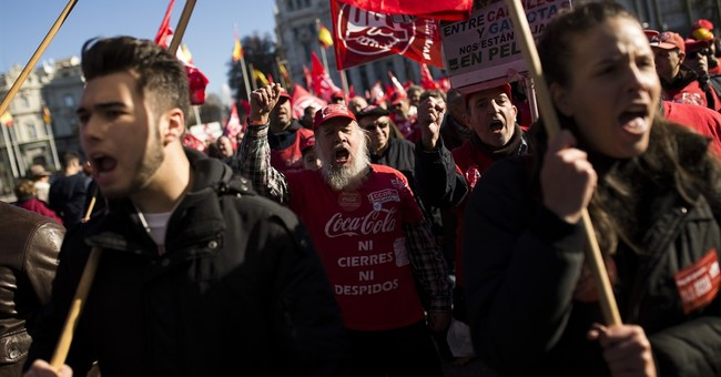 Spain: Labor unions march against government policies
