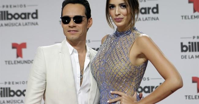Singer Marc Anthony divorcing Venezuelan model wife
