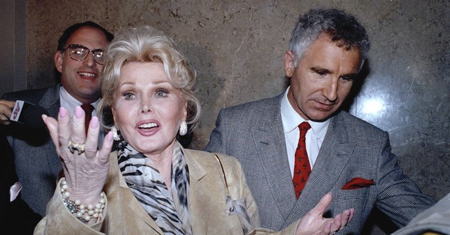 The famously famous Hungarian actress Zsa Zsa Gabor dies