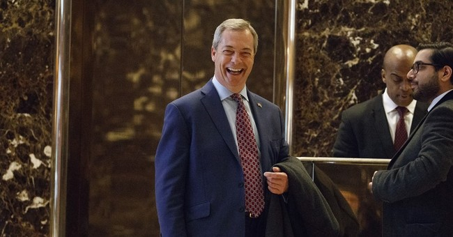 UK government rejects Farage's ambition to be link to Trump