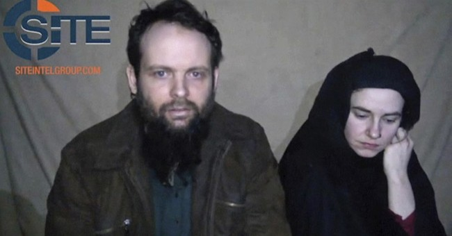Parents of Canadian hostage: first time we've seen kids