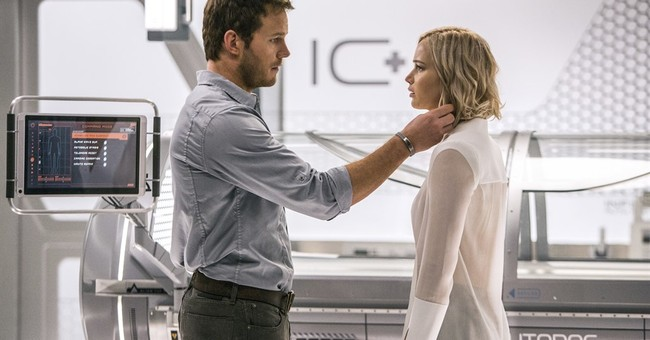 Review: Star power can't correct awry path of 'Passengers'