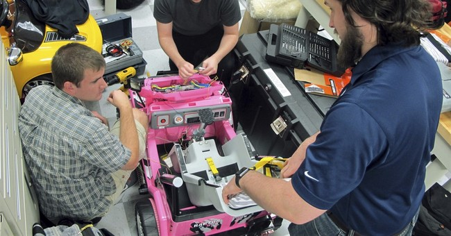 Holiday cheer: students build hi-tech toys for disabled kids