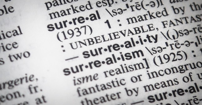 The dictionary folk at Merriam-Webster sum up 2016: surreal