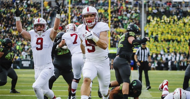 Stanford's McCaffrey to skip Sun Bowl to prepare for draft