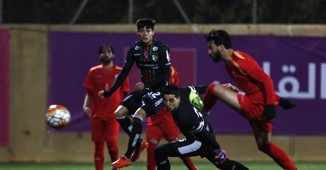 Legendary Chilean soccer club enjoys West Bank homecoming