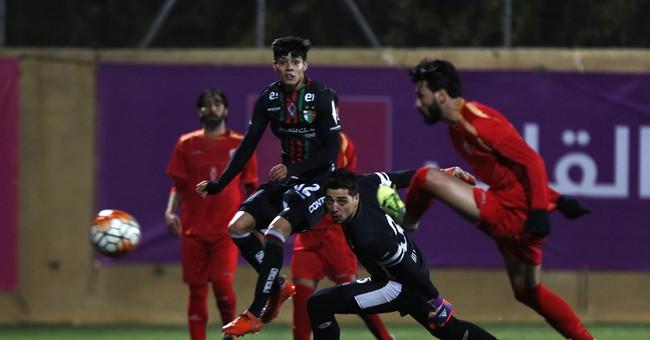 Legendary Chilean soccer club enjoys West Bank homecoming