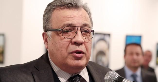 Invoking Syria, policeman kills Russian ambassador to Turkey