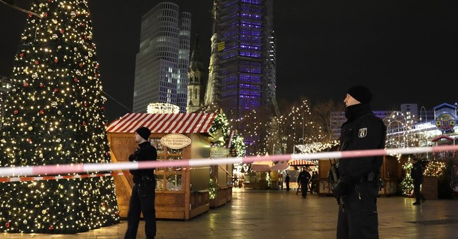 The Latest: Berlin police say attack was done on purpose