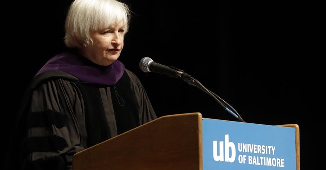 Yellen to college grads: Best job market in nearly a decade