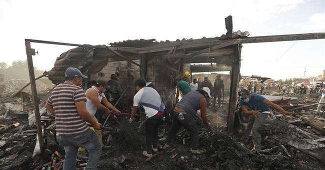 Massive fireworks market blast kills at least 29 in Mexico