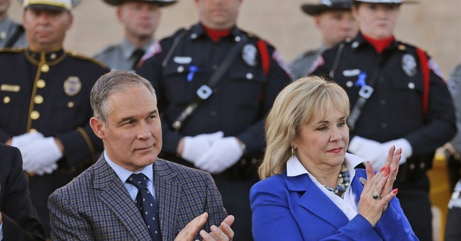 It's a tough time in Oklahoma, except for Scott Pruitt