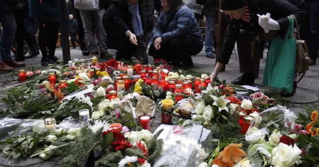 The Latest: Woman describes scene of German market attack