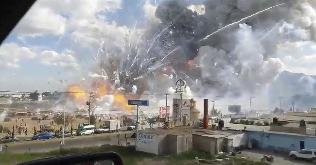 Massive fireworks market blast kills at least 29 in Mexico