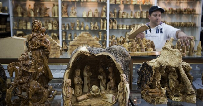 In town of Jesus' birth, craftsmen take on Chinese knockoffs