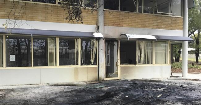 Van explodes outside office of Australian Christian Lobby