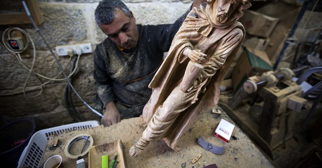 In town of Jesus' birth, craftsmen take on Chinese knockoffs