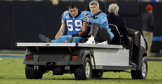 Panthers LB Kuechly: No plans to retire after 2nd concussion