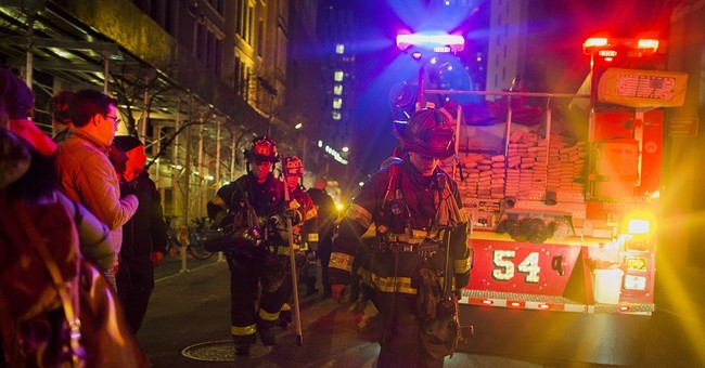 Dozens injured in Manhattan high-rise fire