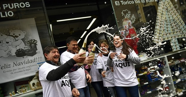 Spain's 'El Gordo' lottery sparks celebrations across Madrid