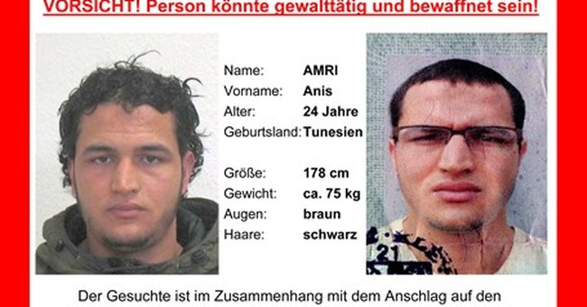 The Latest: Berlin attack suspect reported videoed at mosque