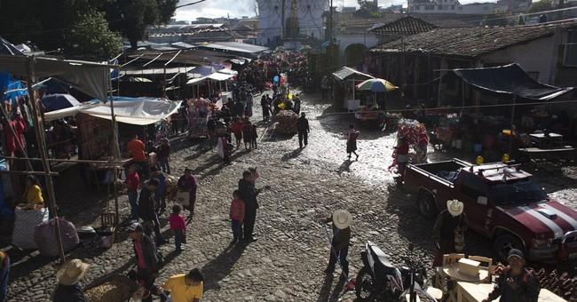AP PHOTOS: Highland Guatemalans mark St. Thomas festival