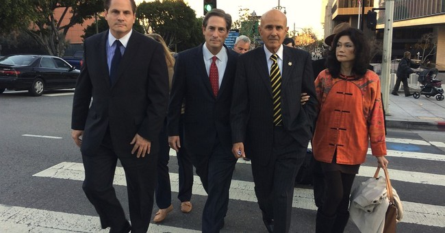 Ex-LA County sheriff touts corruption mistrial as victory