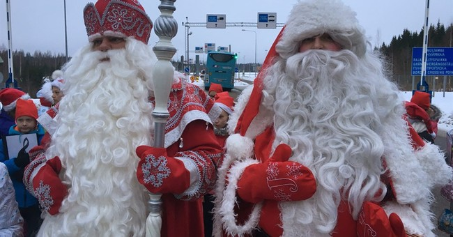 Santa summit cheer can't hide Finland's unease about Russia