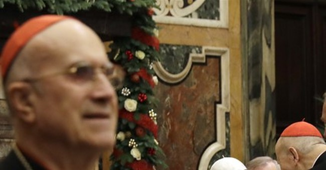 Pope in Christmas speech blasts Vatican resistance to reform