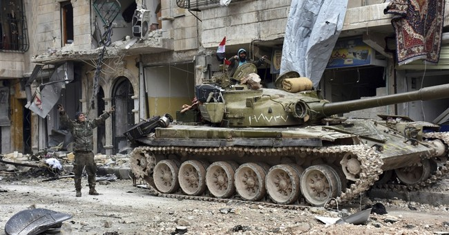 Explosion rocks east Aleppo in Syria as residents return