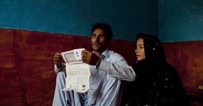 A Pakistani girl is snatched away, payment for a family debt