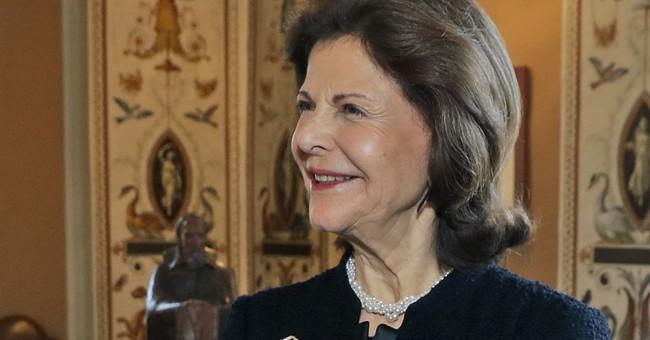 Sweden's German-born queen hospitalized for dizziness