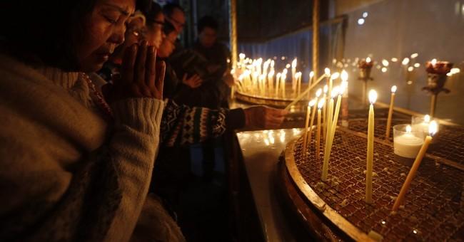 Thousands of faithful celebrate Christmas in Bethlehem
