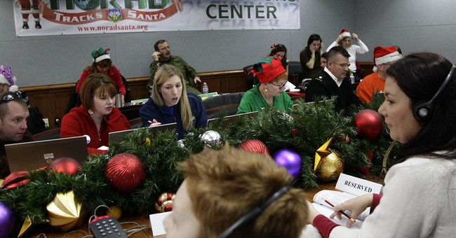 Military helping kids follow Santa's fabled flight