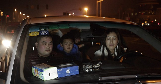 Chinese using carpooling apps to get ride home for holidays