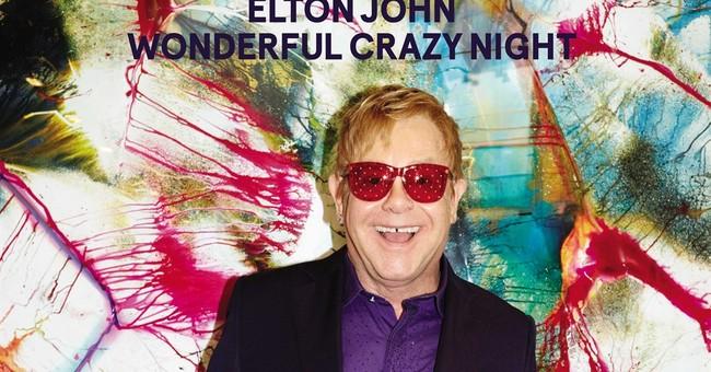 Elton John strips off the gloss on 'Wonderful Crazy Night'