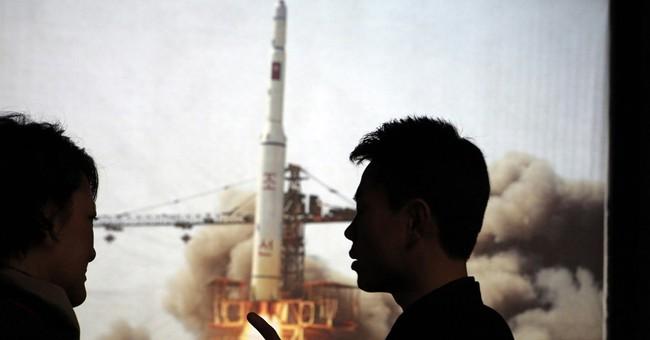 AP Photos: Rocket models in North Korean propaganda displays