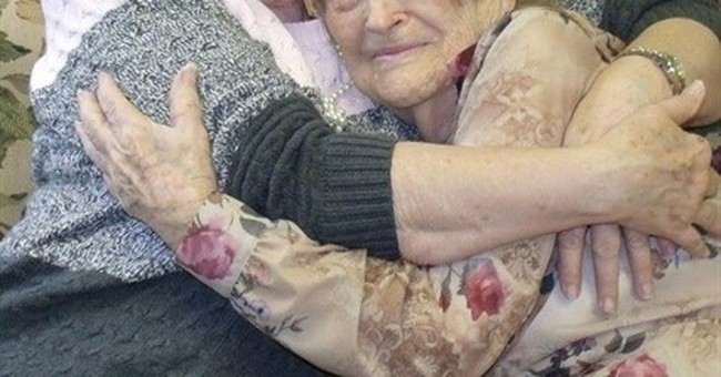 Woman, 82, tracks down and meets 96-year-old birth mother
