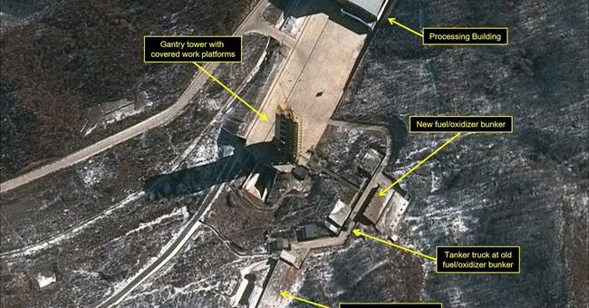 Obama, Xi discuss NKorea amid signs of rocket launch preps