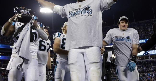 Cam Newton heads fully 'Lokai'd' into the Super Bowl