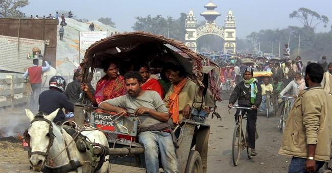 Local residents open main blocked India-Nepal border point