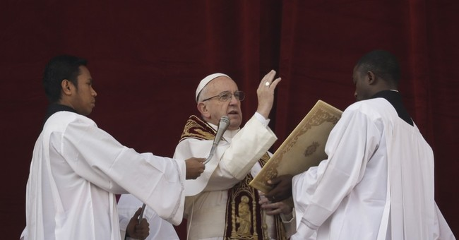 Pope wishes Christmas peace for those scarred by war, terror
