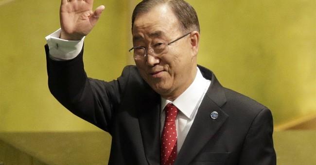 UN's Ban Ki-moon to push Times Square 2017 countdown button