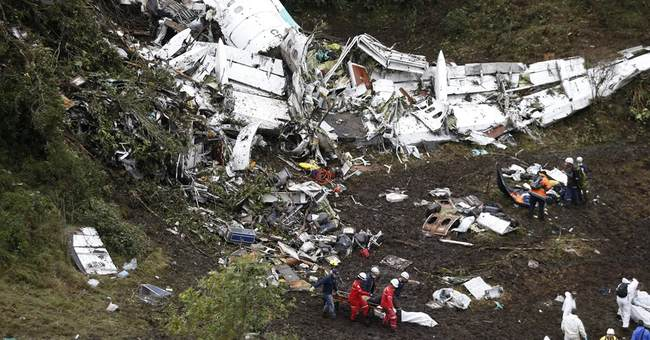 Colombia probe finds human error, lack of fuel in air crash